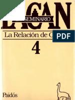 El Seminario 4. La relación de objeto [Jacques Lacan].pdf