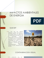 Efectos de las energías en el medio ambiente