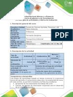 Fase 1-Presaberes - Guía de Actividades y Rúbrica de Evaluación