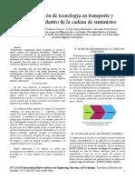 Incorporación de tecnología en transporte y distribución dentro de la cadena de suministro.pdf