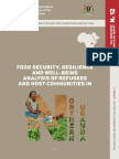 Food Security, Resilience and Well-being Analysis of Refugees and Host Communities in Northern Uganda