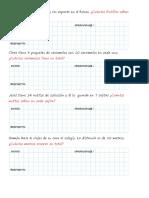 Problemas de multiplicación y división simples