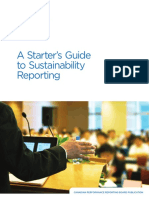 A Starters Guide to Sustainability Reporting