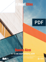 Agenda completa Art Basel Cities Buenos Aires 2018
