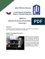 Practica 1 Laboratorio Tecnicas Instrumentales Avanzadas ESIQIE