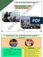 Actividad Integradora 1 de 6 - ¿Por que la Guerra? - Módulo 10 - Prepa en línea - SEP.