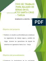 INSTRUCTIVO DE TRABAJO SEGURO PARA BAJADO DE TUBERIAS.pptx