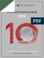 2018 PCCB Products Catalogue