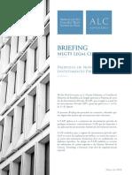 Briefing Proposta de Nova Lei Do Investimento Privado de Angola PT