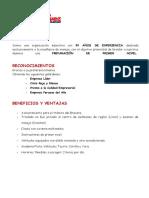Paquetes Jose Galvez