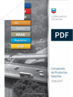 Chevron Salesfax Spanish