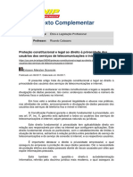 Texto Complementar I