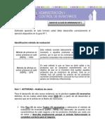 Administración Control de Inventarios Unidad Tematica 1