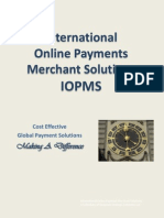 IOPMS Merchant Services Training I