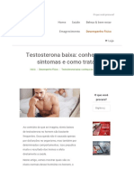 Testosterona Aplicada