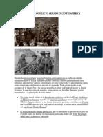 Antecedentes Conflictos Armados Centroamerica