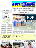 Folha de Cidelândia-3º Edição