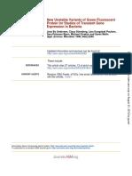 Andersen Et Al -1998 - New Unstable Variants of GFP