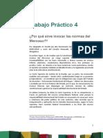 Trabajo Práctico Nº 4. Mercosur y Unión Europea