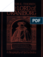 The Lord of Uraniborg a Biography of Tycho Brahe