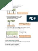 Proporcionalidad Invers y Directa