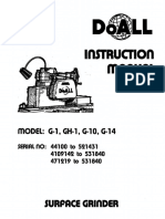 DoAll Surface Grinder