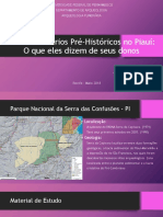 Sepultamentos Na Serra Das Confusões - PI