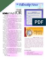 Oct 5, 2010 Fellowship News