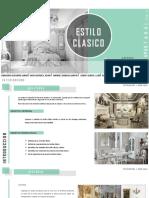 Estilo Clasico - Diseño de Interiores