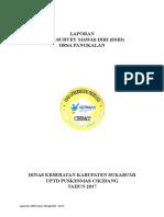 Hasil Smd Desa Pangkalan 2017