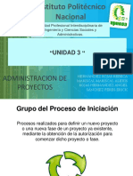 Administracion de Proyectos u3