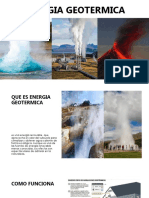 Energia Geotermica y Energia Biomasa