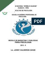 Modulo de Marketing y Publicidad Para Psicologia