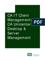 CA Unicenter Desktop Server Management Green Book ENU