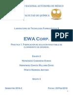 Reporte 1 - Tecnología Farmacéutica 2