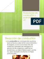 Reacciones de combustión y polimerización{on.pptx