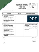 Notulen Rapat Kometik & Medico.doc