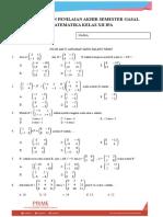 15. Soal Persiapan Pas Kelas 12 Ipa_matematika
