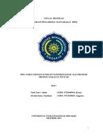 Ppm Umkm Mengenai Desain Komersialisasi Dan Promosi Produk Makanan Inovasi