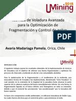Técnicas de Voladura Avanzada para la optimización de fragmentación y control de polvo_P. Avaria
