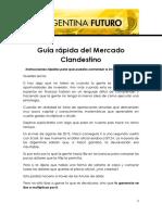 Guía Rápida Del Mercado Clandestino