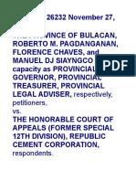 Province of Bulacan vs CA