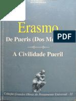 Erasmo de Rotterdan - De Pueris (Dos Meninos) - A Civilidade Pueril