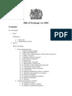 Bills of Exchange Act 1882