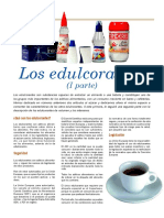 Edulcorantes I