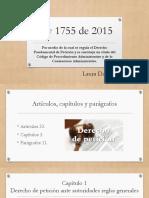 Ley 1755 de 2015