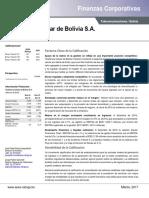 Finanzas Corporativas TELECEL BOLIVIA