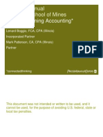 Basics of Mining Accounting Canada