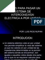 SISTEMA ELECTRICO POR UNIDAD.ppt