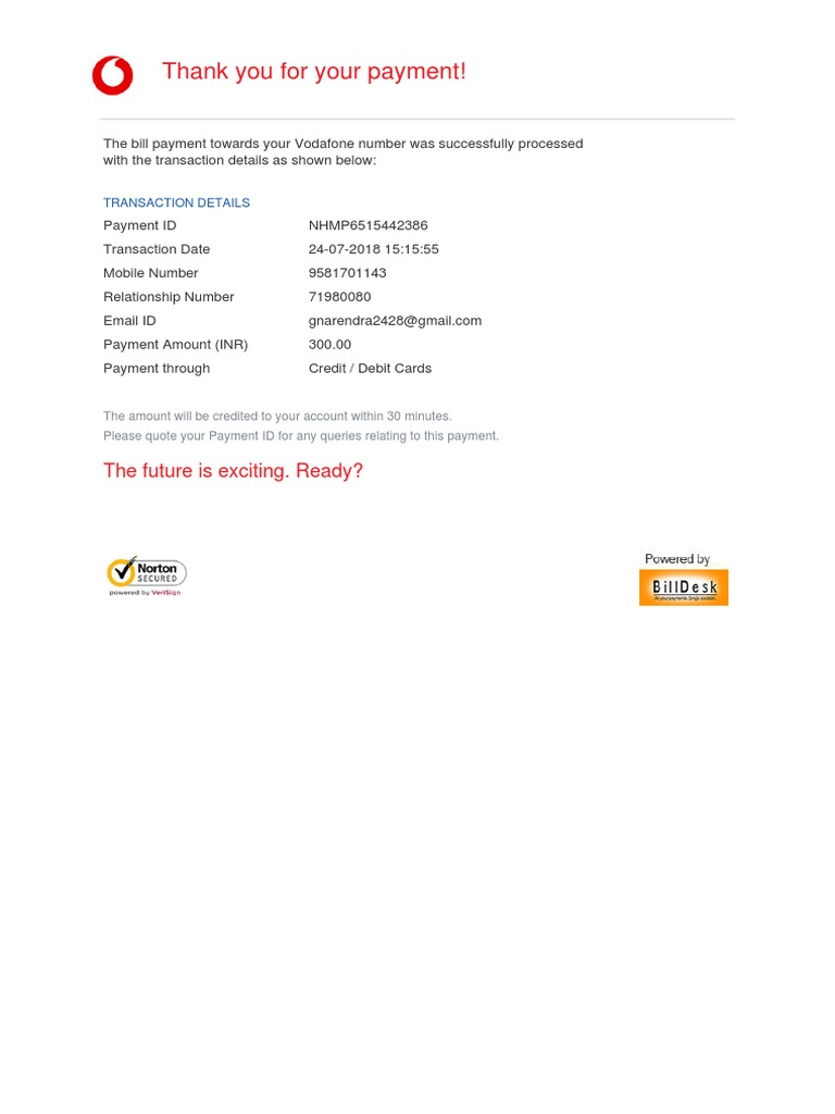 Vodafone NHMP6515442386